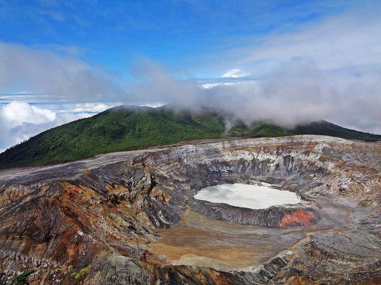 Photo Le Volcan Poas - Costa Rica