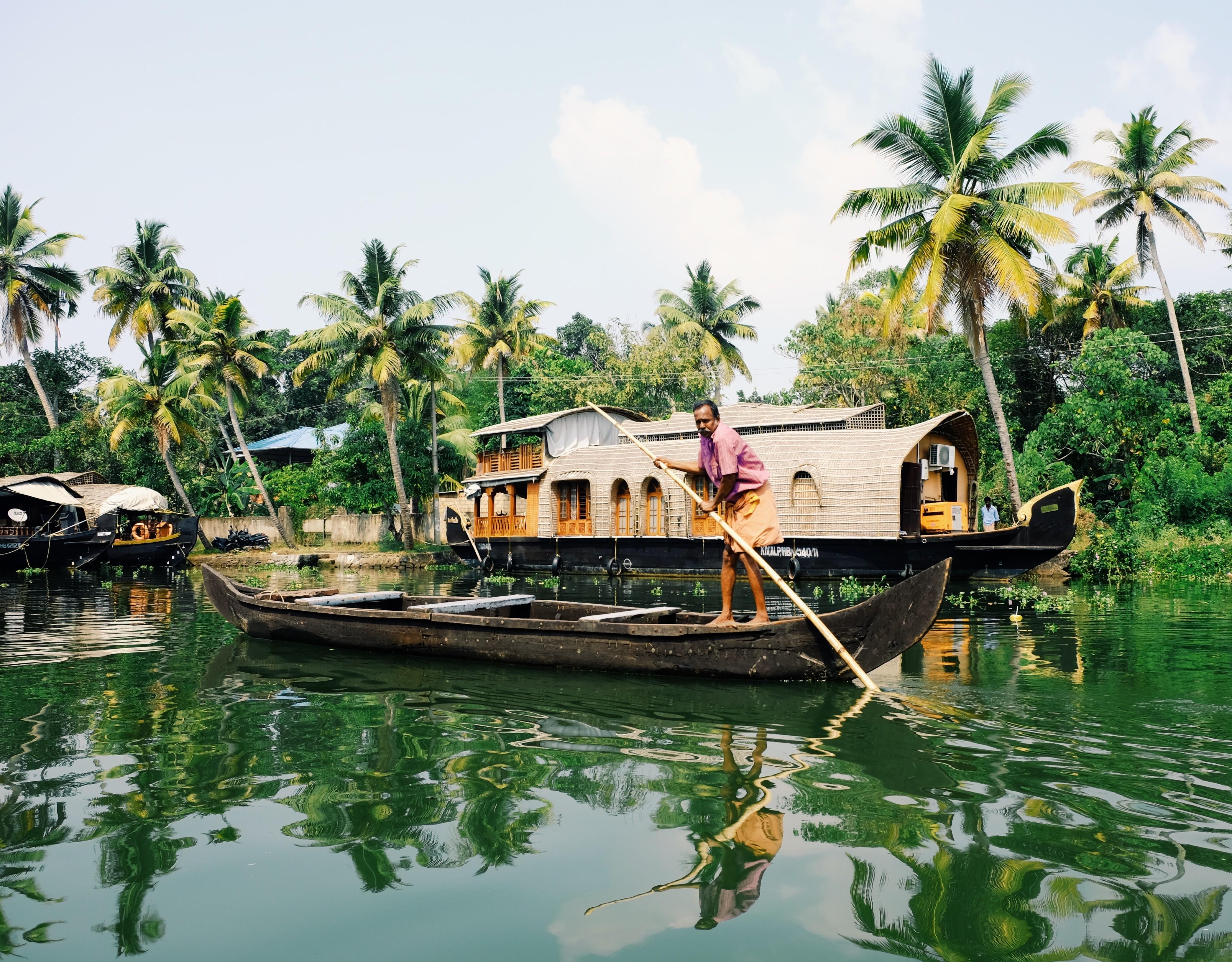 Photo La nuit en house boat - Inde