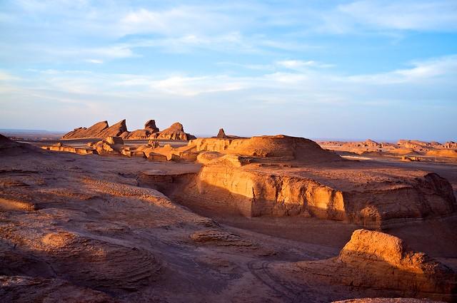 Photo Le désert du Kalut - Iran