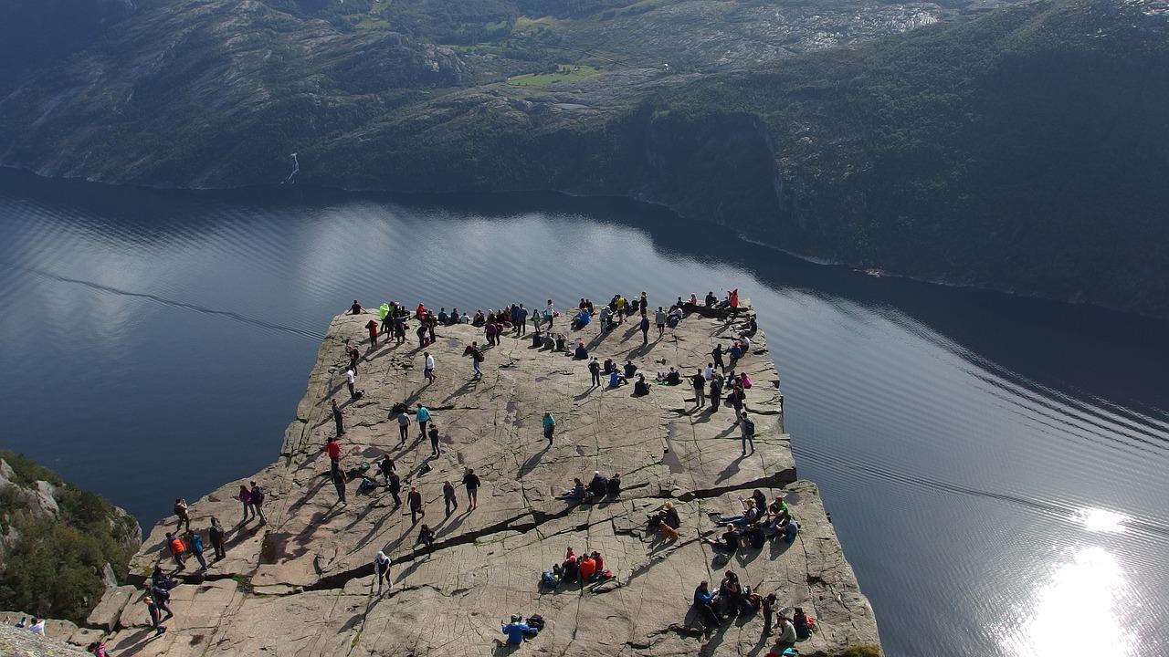 Photo Pulpit Rock - Norvège