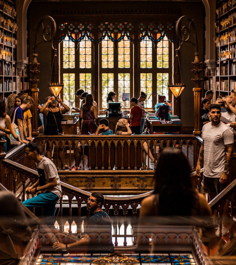 Photo Librairie Lello - Portugal