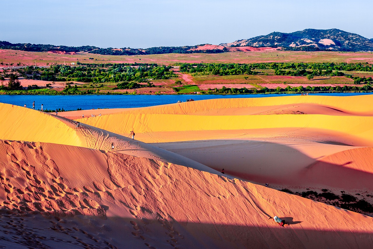 Photo Les dunes de Mui Ne - Vietnam
